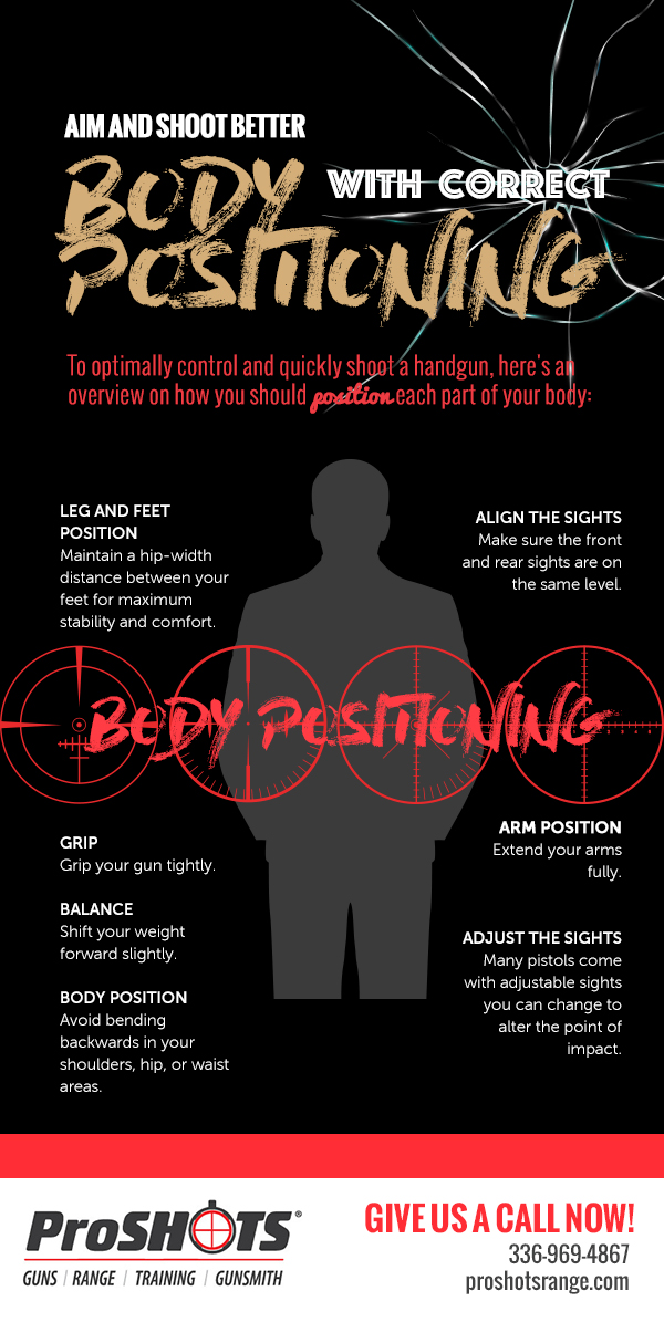 Aim and Shoot Better with Correct Body Positioning
