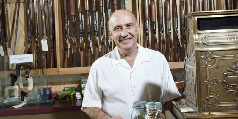 feel confident with guns and gun stores