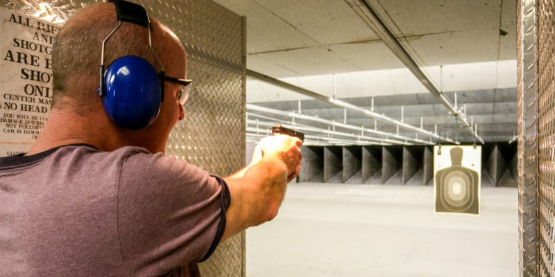 Range in Forsyth County, North Carolina