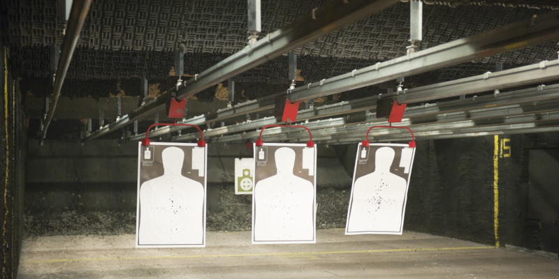 indoor gun range is a great idea