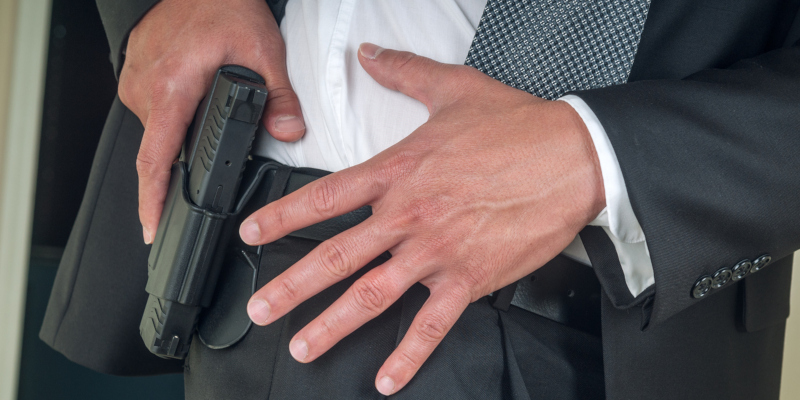 you must have a permit for concealed carry