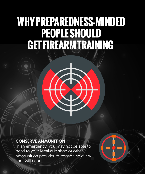 Why Preparedness-Minded People Should Get Firearm Training [infographic]